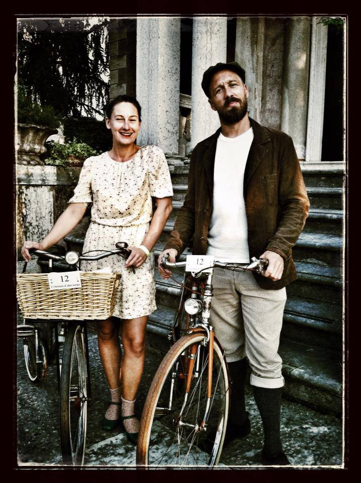 pedaled couple vintage